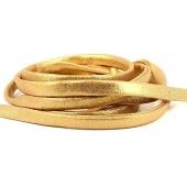 Fita de Lycra Costurada - Dourado