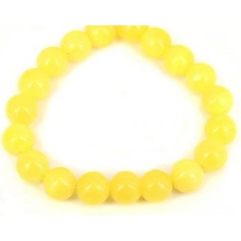 Bolinhas de Pedra 10mm Cor Amarelo