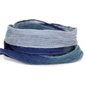 Fita de Seda Colorida - Dusty Blue