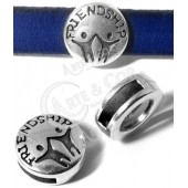"Conta Redonda ""Friendship"" Int. 10x2mm"